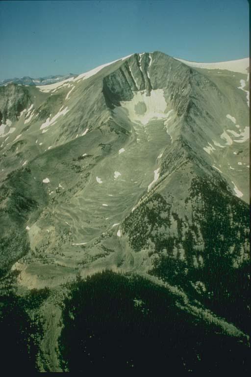 Rock Glaciers, Mt. Sopris, Colorado