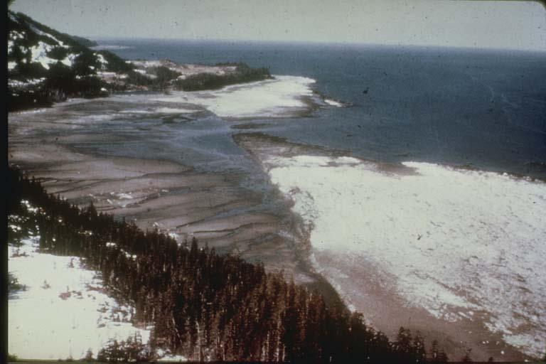 Hanning Bay Fault Scarp, Alaska