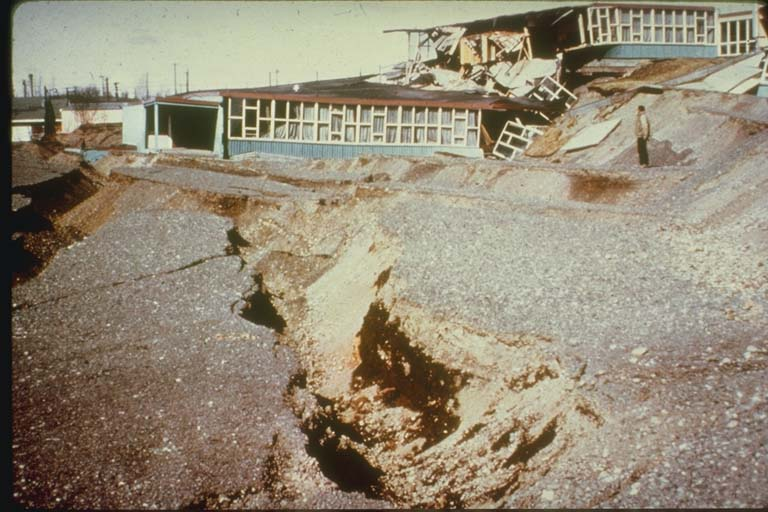 Government Hill Landslide, Anchorage, Alaska