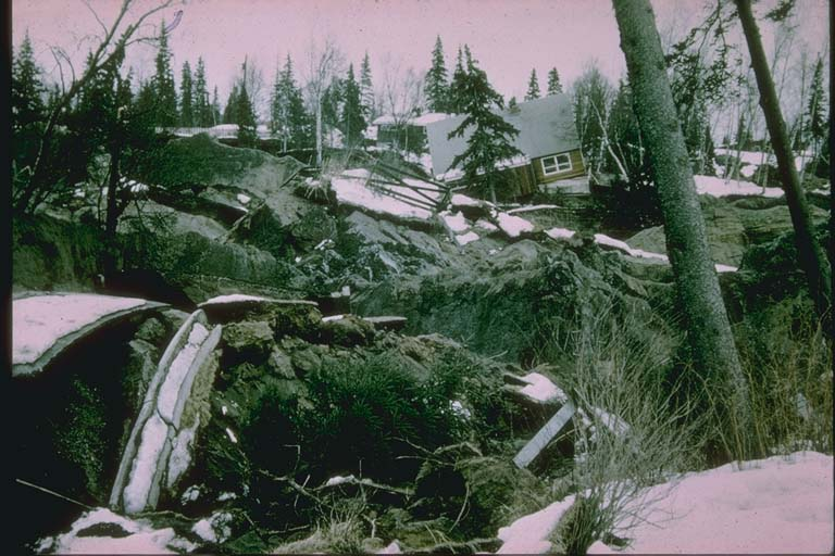 Turnagain Heights Landslide, Anchorage, Alaska