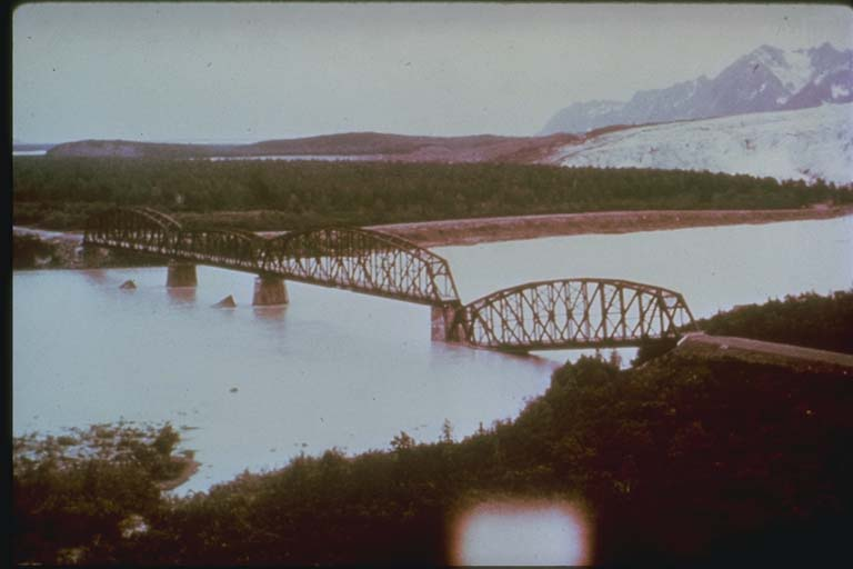 Bridge Damage on the Copper River, Alaska