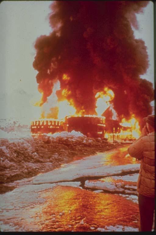 Tank Farm Fire, Valdez, Alaska