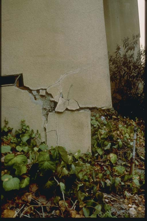 Shift of Apartment Building in 1987 Whittier, CA