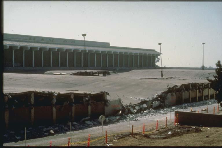 Partial Collapse of Parking Garage, Whittier, CA