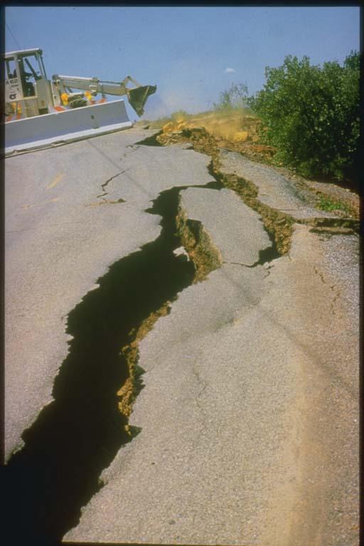 cracks in roadway morgan hill