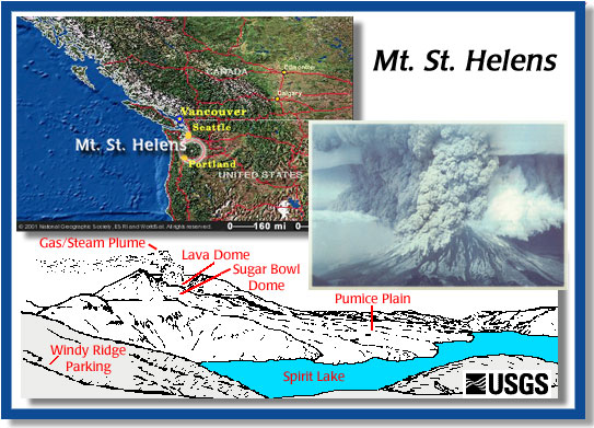 mount st helens map