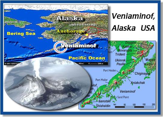 Image result for Veniaminof volcano