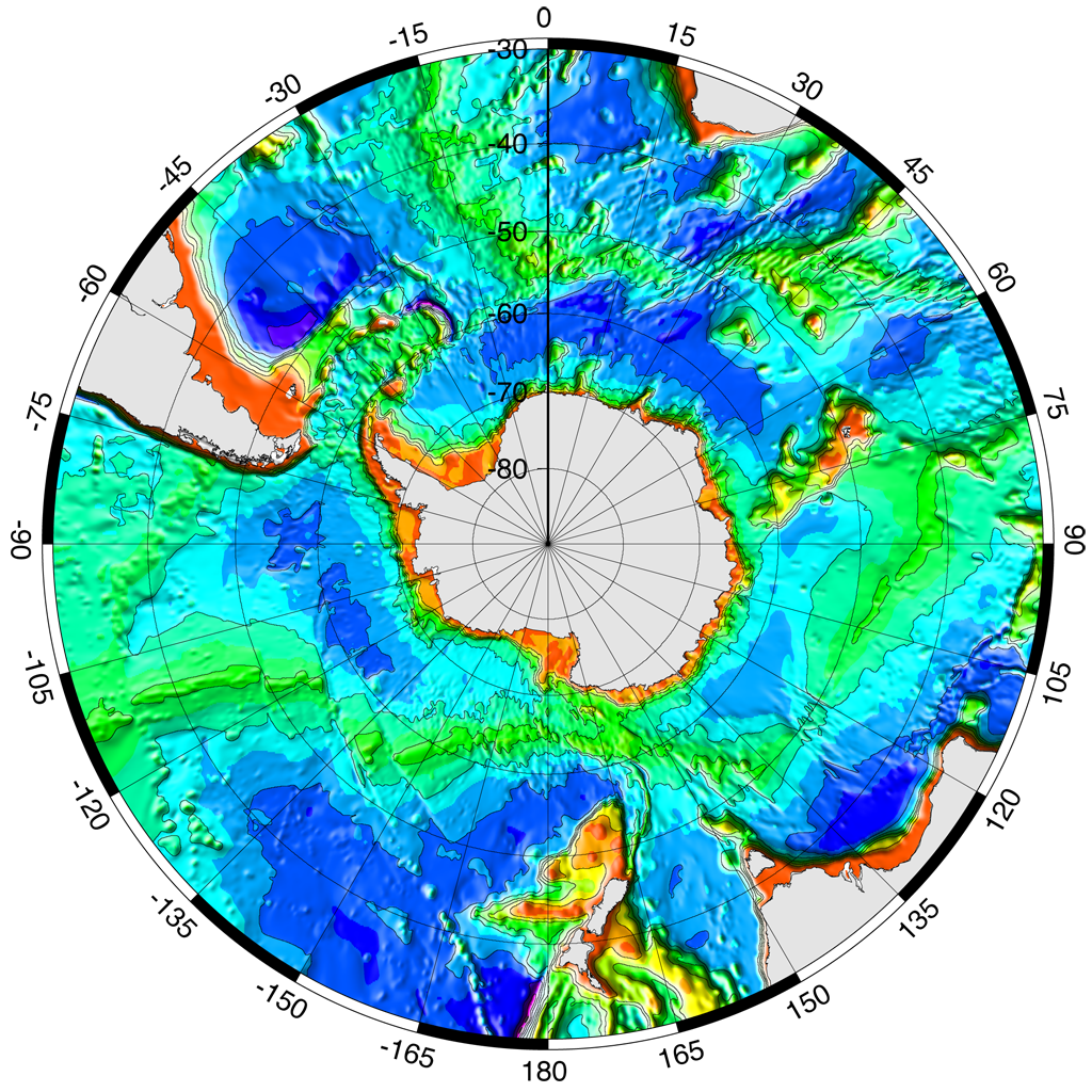 Construction of circum antarctic paleobathymetry to 30 south bathymetry gumiabroncs Gallery