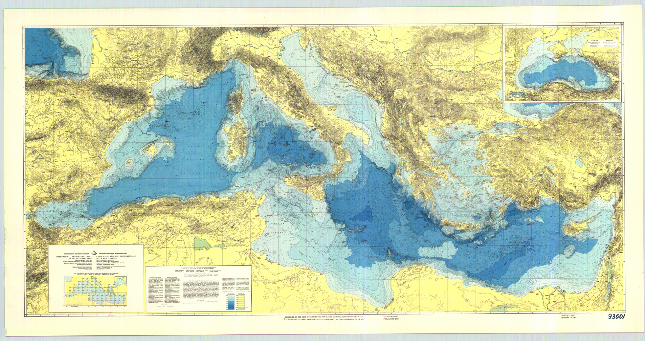 Opinions on Mediterranean sea oceanography