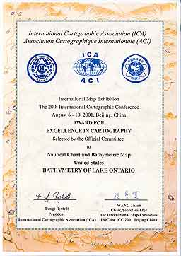 view larger image of ICA award.