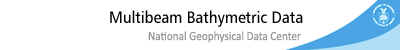 NGDC Multibeam Bathymetry