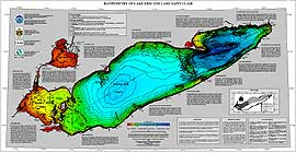 Image for Lake Erie & Lake St. Clair Bathymetry, Report MGG-13, 1998