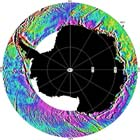 gravity image of the Southern Ocean