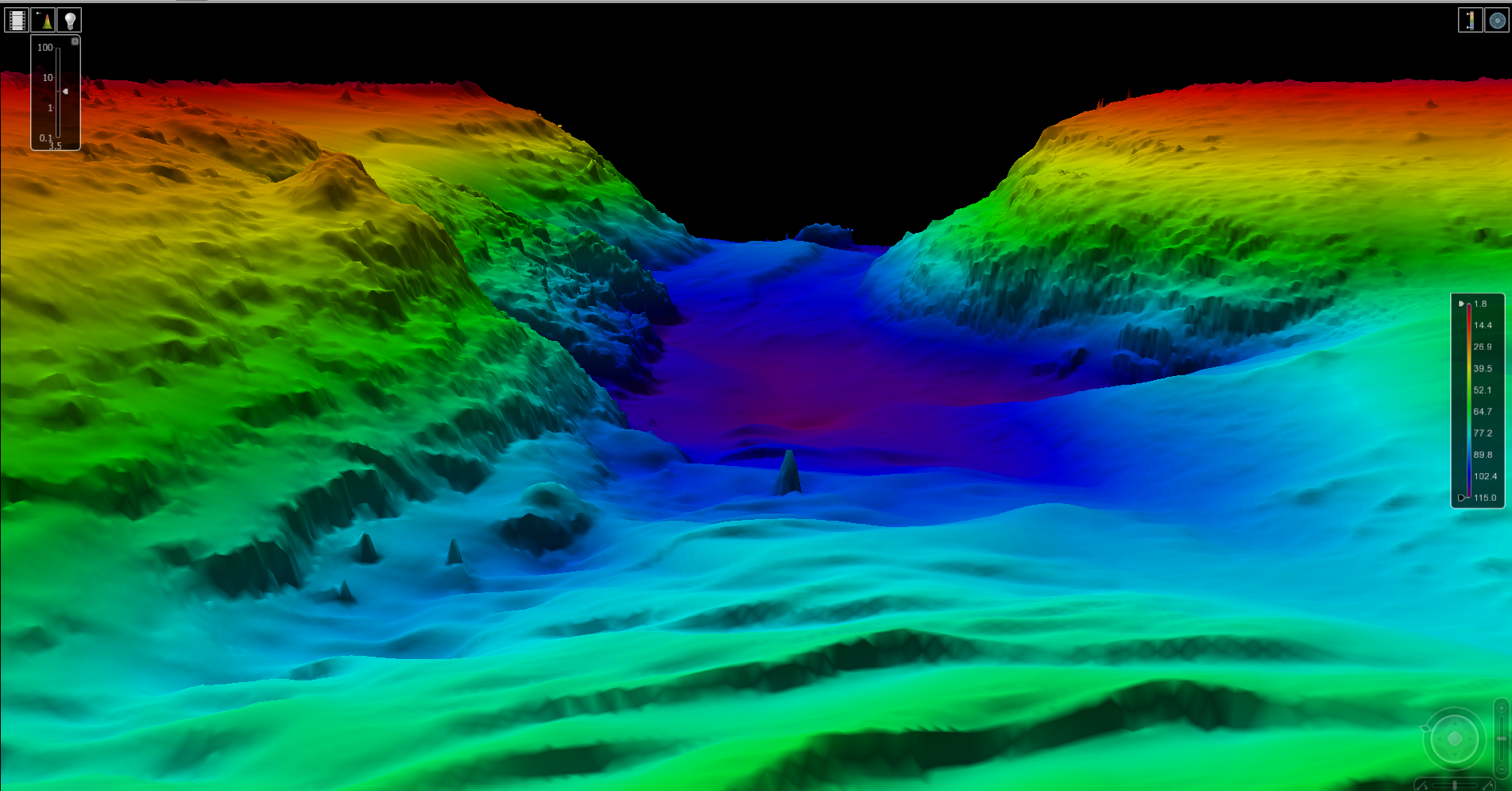 Sea Floor Elevation Data : Nos hydrographic survey data and products ncei