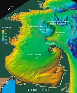 Sanctuary map. Credit: NOAA Fisheries