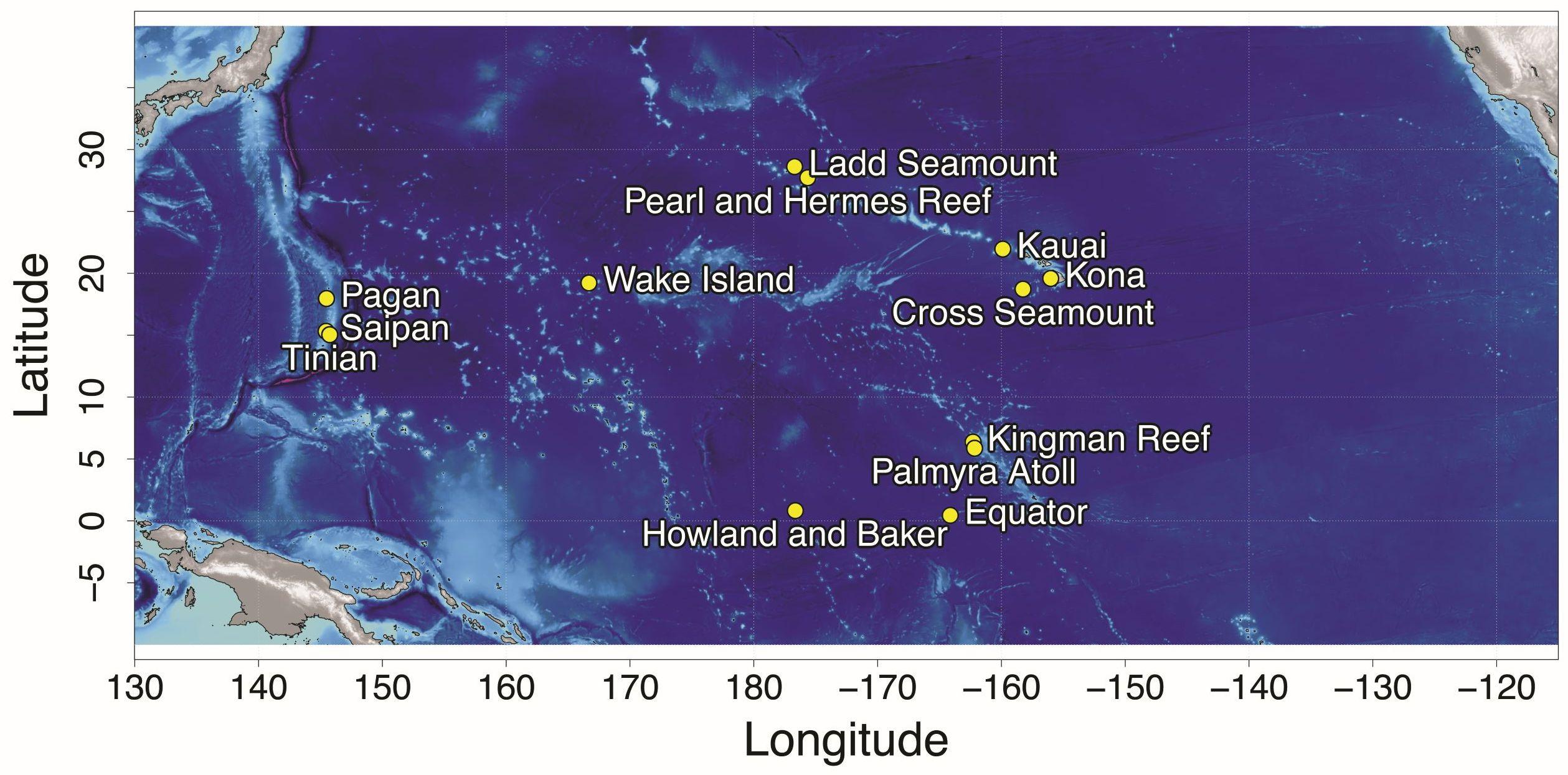 Monitoring locations. Credit: NOAA