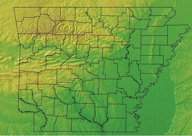 Arkansas State Information - Symbols, Capital, Constitution ...