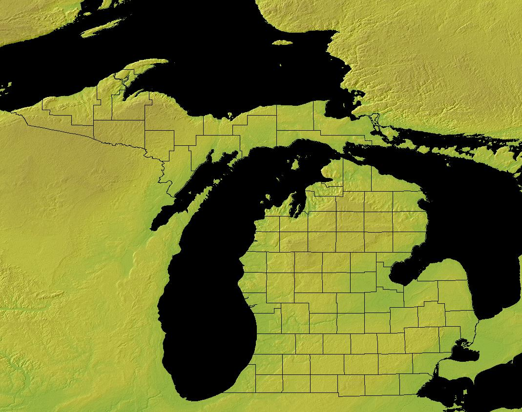 Michigan State Information Symbols Capital
