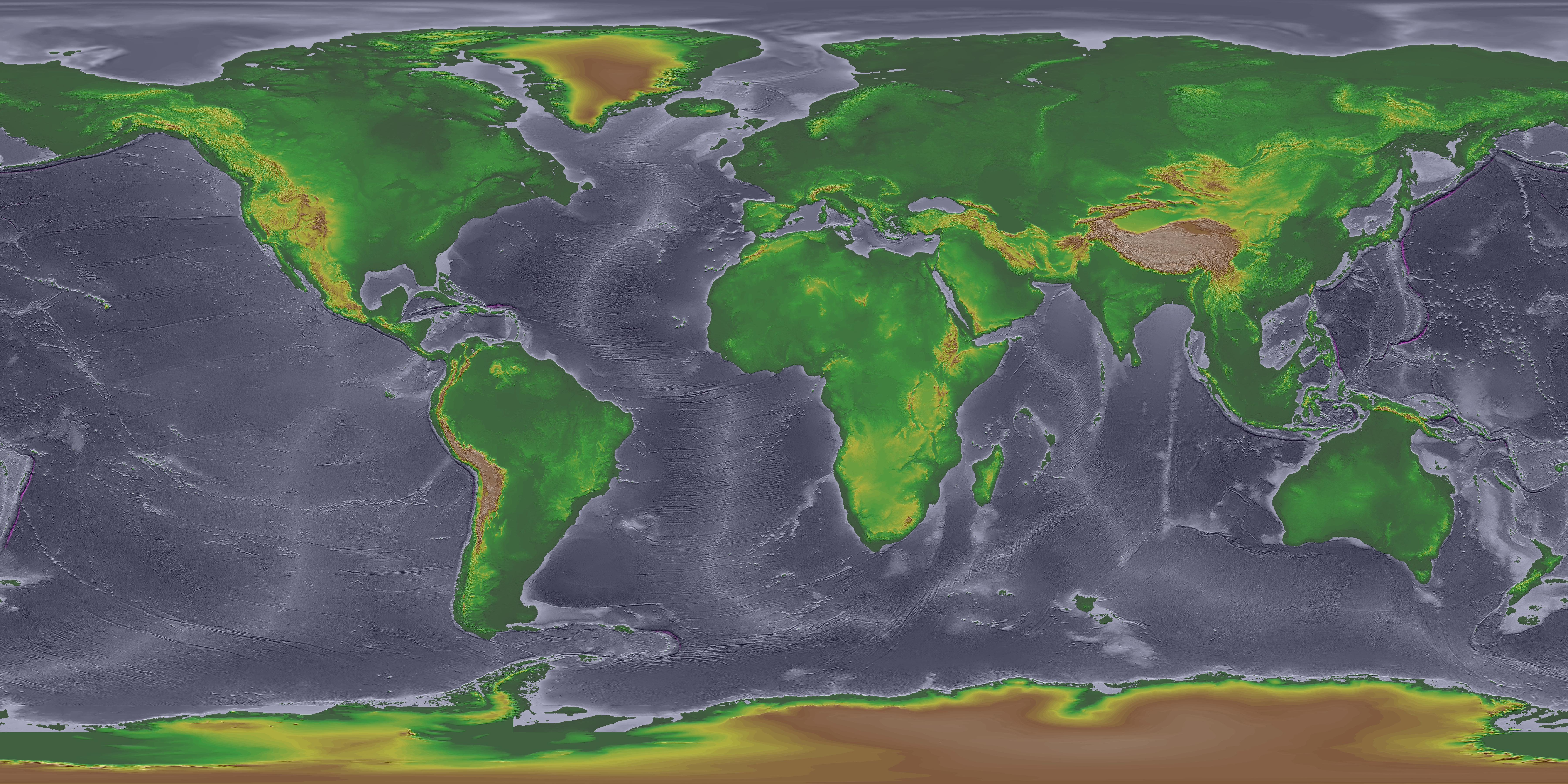 Global Land Onekm Base Elevation Project High Resolution Images – Map World High Resolution